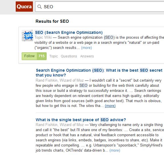 quora soru cevap sitesi
